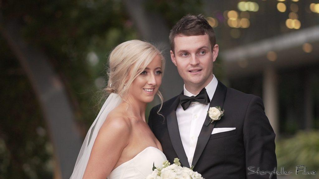Claire & Matt's Wedding Videography St Stephen's Cathedral Brisbane