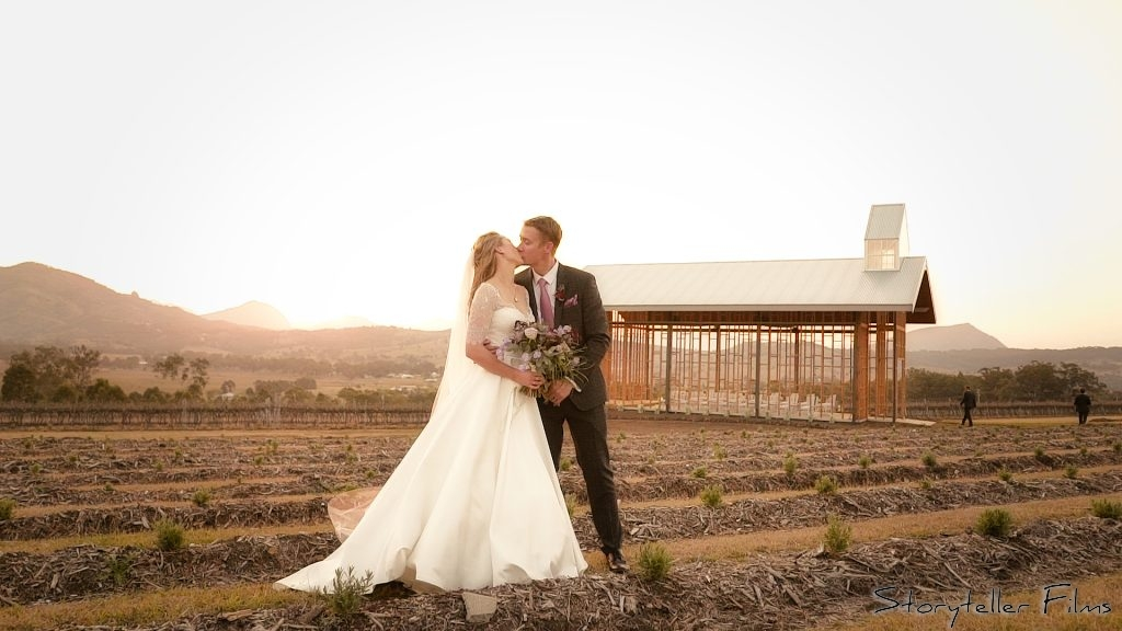 Rhiannon Amp Lee S Wedding Video Kooroomba Lavender Farm