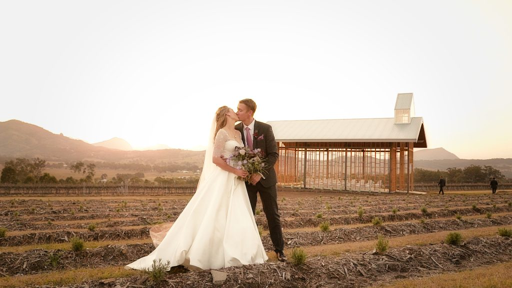 Kooroomba Lavender Farm Wedding Photographer and Videographer