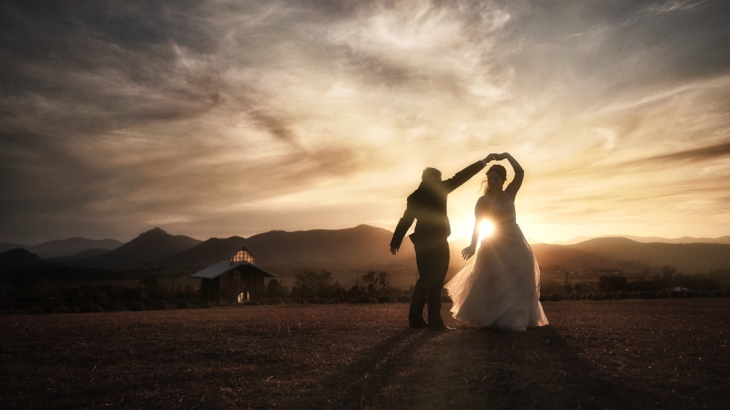 Wedding Photography at Kooroomba Lavender Farm