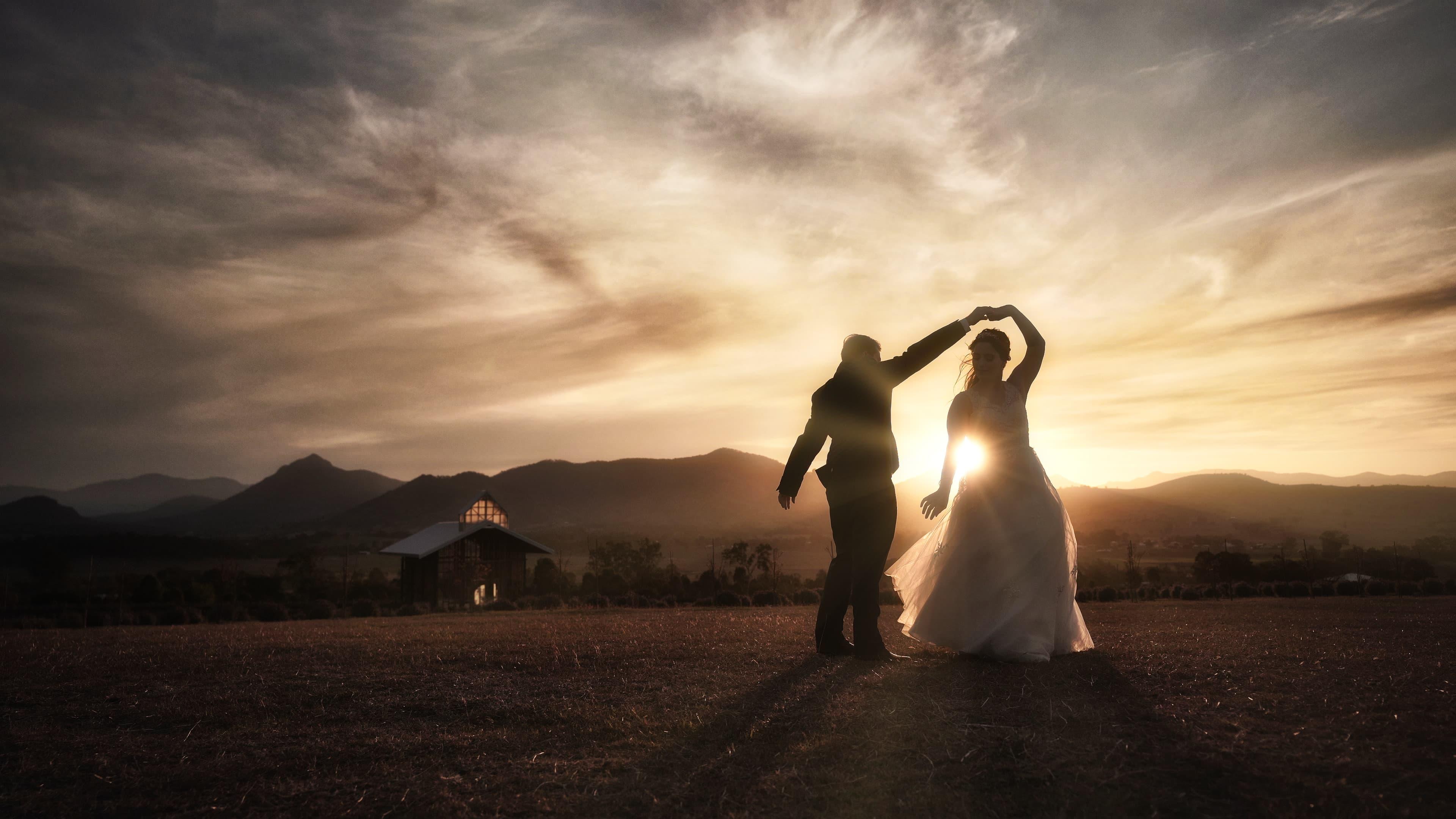 Kooroomba Lavender Farm Wedding Photography and Videography