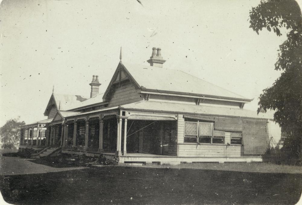 Historic photo of gabbinbar Homestead.