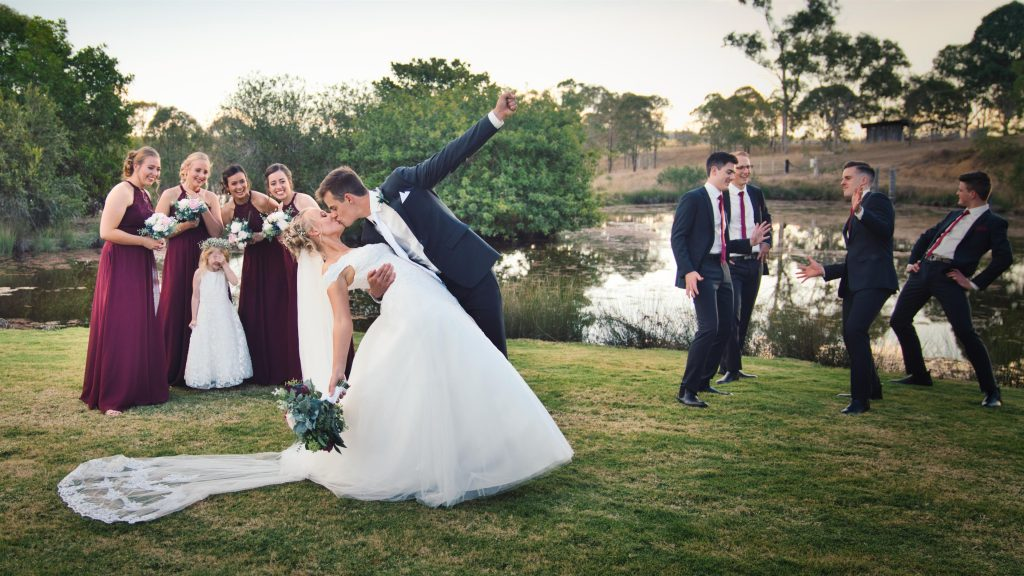 Dusty Hill Wines Wedding photographer and videographer
